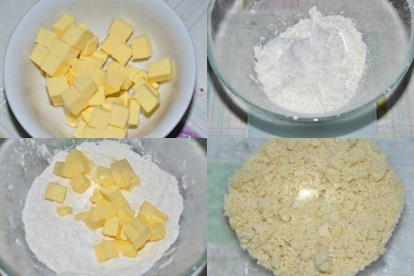 nguyên liệu làm vỏ bánh tart