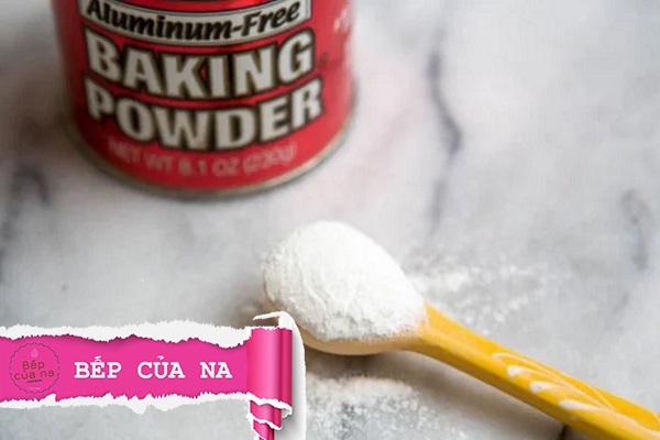 các loại baking powder