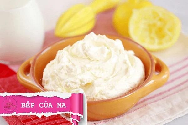 cream cheese dùng để làm gì