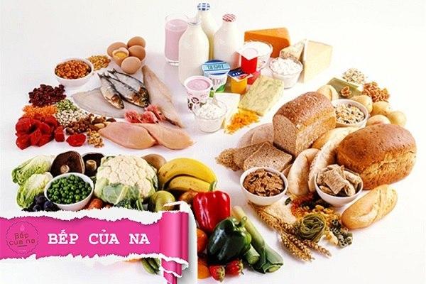 thực phẩm dinh dưỡng mùa dịch covid 19