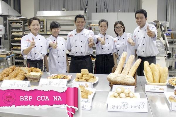 trường dạy học làm bánh