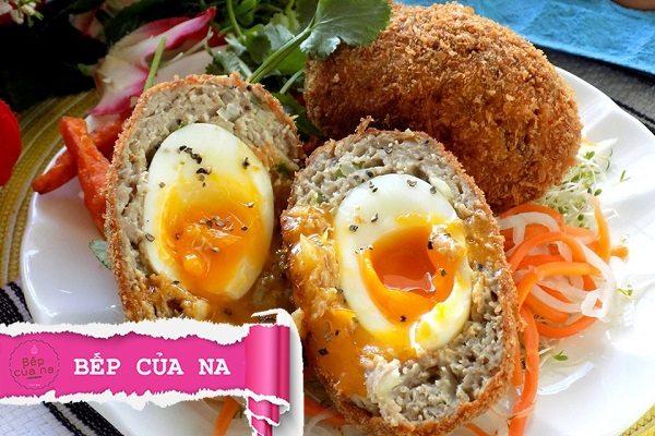 Các món ăn từ trứng gà luộc