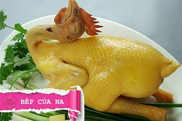 thịt gà luộc